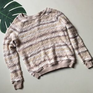 American Eagle chunky knit crew neck sweater